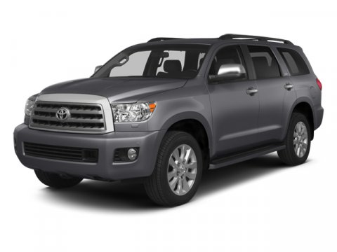 2014 Toyota Sequoia SR5 Pyrite MicaGray V8 57 L Automatic 0 miles  AUTO-DIMMING REARVIEW MIRRO
