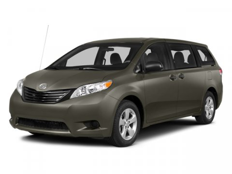2014 Toyota Sienna SE Super WhiteDark Charcoal V6 35 L Automatic 42 miles  ALLOY WHEEL LOCKS