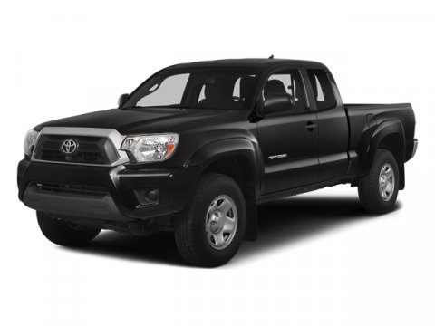 2014 Toyota Tacoma Black V6 40 L Automatic 1 miles  Four Wheel Drive  Power Steering  ABS