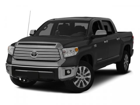 2014 Toyota Tundra LTD Super WhiteBLACK V8 57 L Automatic 5 miles Toyotas full-size truck th