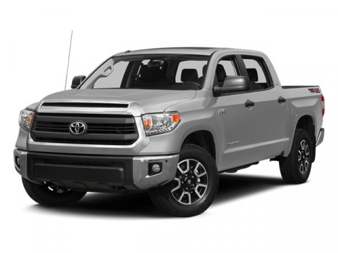 2014 Toyota Tundra SR5 Black V8 57 L Automatic 37818 miles 4WD and Cloth Crew Cab Short Bed