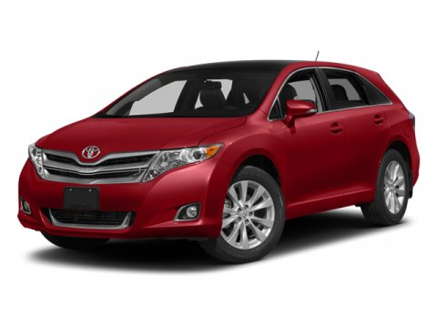 2014 Toyota Venza XLE Barcelona Red MetallicIvory V6 35 L Automatic 0 miles  ALLOY WHEEL LOCKS