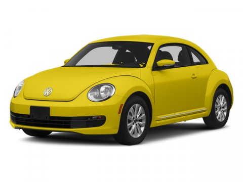 2014 Volkswagen Beetle Coupe 25L wSun Yellow RushJU V5 25 L Automatic 605 miles  Front Wheel