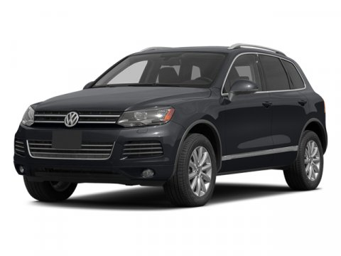 2014 Volkswagen Touareg Exec Black UniJZ V6 36 L Automatic 10 miles  All Wheel Drive  Tow Hit
