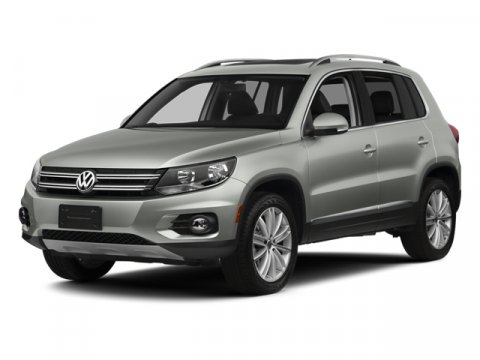 2014 Volkswagen Tiguan SE Pure WhiteQV V4 20 L Automatic 17 miles  Turbocharged  Front Wheel