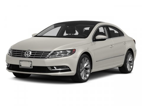 2014 Volkswagen CC Sport Night Blue MetallicBlack V4 20 L Automatic 50 miles  Turbocharged  F