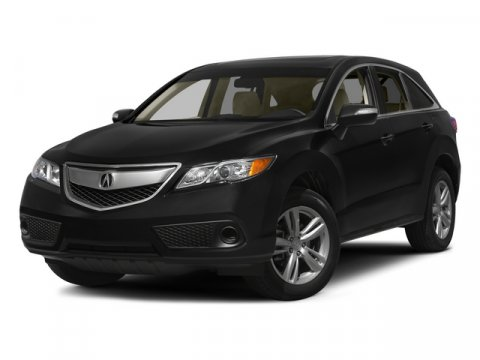 2015 Acura RDX Tech Pkg STERLING GRAYEbony V6 35 L Automatic 14 miles  All Wheel Drive  Power