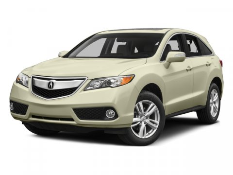 2015 Acura RDX Tech Pkg White Diamond Pearl V6 35 L Automatic 58 miles  WHITE DIAMOND PEARL P