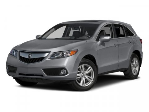 2015 Acura RDX Tech Pkg Forged Silver Metallic V6 35 L Automatic 6 miles  FORGED SILVER METAL