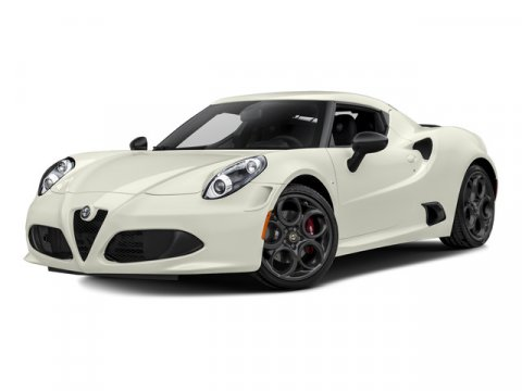 2015 Alfa Romeo 4C Rosso AlfaBlack V4 17 L Automatic 5 miles  Turbocharged  Rear Wheel Drive