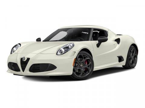 2015 Alfa Romeo 4C Rosso AlfaBlack V4 17 L Automatic 5 miles  Turbocharged  Rear Wheel Drive