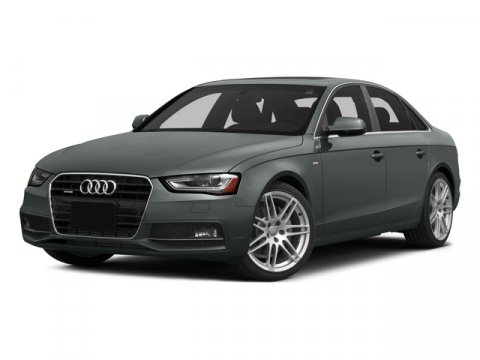 2015 Audi A4 Premium Monsoon Gray MetallicBLACK V4 20 L Variable 5 miles  Turbocharged  Front