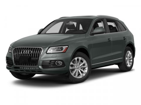 2015 Audi Q5 Premium Plus Ibis WhiteBLACK V6 30 L Automatic 5 miles  Supercharged  All Wheel