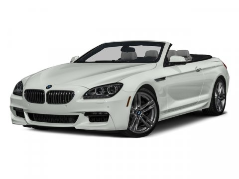 2015 BMW 6 Series 640i xDrive Alpine WhiteBlack V6 30 L Automatic 0 miles  Turbocharged  All