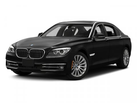 2015 BMW 7 Series 740Li xDrive Black Sapphire MetallicLight Saddle V6 30 L Automatic 0 miles P