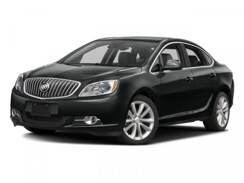 2015 Buick Verano Leather Group Carbon Black MetallicEbony V4 24L Automatic 8 miles  CARBON B