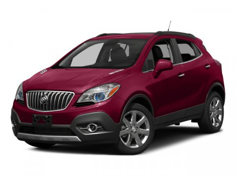 2015 Buick Encore Leather Carbon Black MetallicSADDLE V4 14 Automatic 54 miles  AUDIO SYSTEM