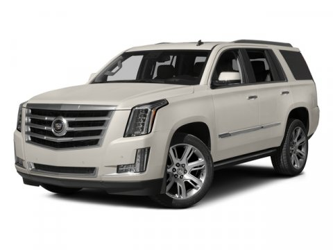 2015 Cadillac Escalade Premium Collection White Diamond TricoatKona Brown wJet Black Accents V8