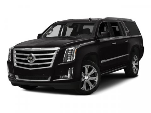 2015 Cadillac Escalade ESV Premium Collection Dark Granite MetallicKona Brown wJet Black Accents