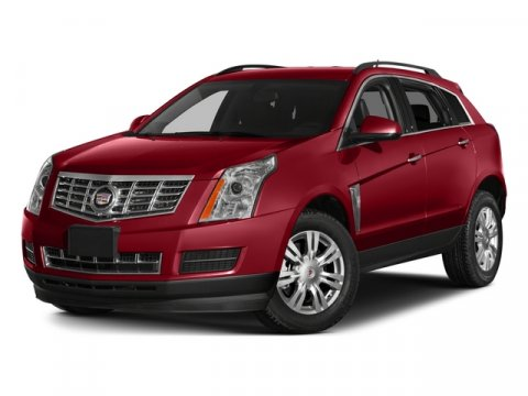 2015 Cadillac SRX AWD Luxury Collection Crystal Red TintcoatShale wBrownstone accents V6 36L Au