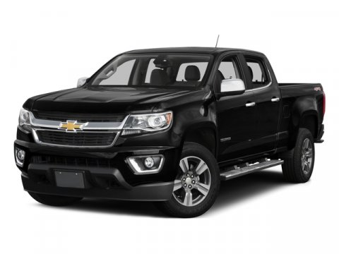 2015 Chevrolet Colorado 4WD Z71 Brownstone MetallicJet Black V6 36L Automatic 11916 miles  Lo