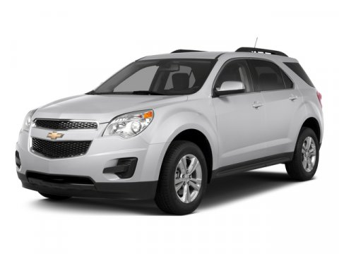 2015 Chevrolet Equinox 1LT FWD WhiteJet Black V4 24 Automatic 48122 miles White with Black Cl