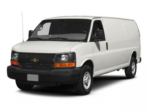 2015 Chevrolet Express Cargo Van G3500 Summit WhiteMED PEWTER CUSTOM CLOTH V8 60L Automatic 2