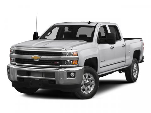 2015 Chevrolet Silverado 2500HD 4WD Crew Cab LTZ 65 ft box 153 Silver Ice MetallicJet Black V8