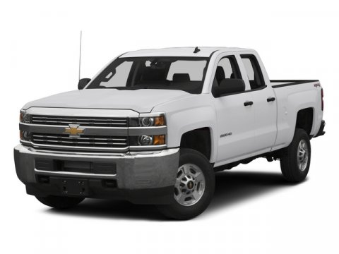2015 Chevrolet Silverado 2500HD Work Truck Summit White V8 66L Automatic 30 miles  DIFFERENTIA
