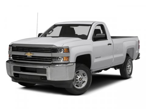 2015 Chevrolet Silverado 2500HD Work Truck Summit White V8 60L Automatic 55 miles Connell Che