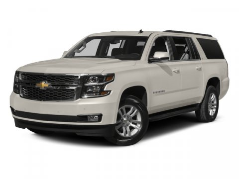 2015 Chevrolet Suburban LTZ Summit WhiteH2XBlack V8 53L Automatic 0 miles  2015 INTERIM PROC