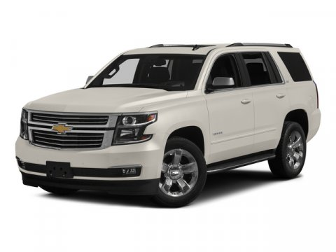 2015 Chevrolet Tahoe LTZ White Diamond TricoatCocoaDune V8 53L Automatic 0 miles  ASSIST STEP