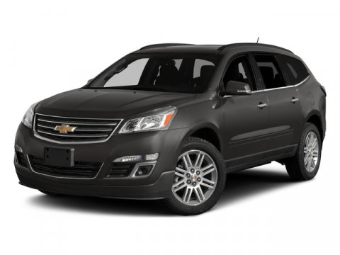 2015 Chevrolet Traverse LT Black Granite MetallicEbony V6 36L Automatic 2 miles  ALL-STAR EDIT