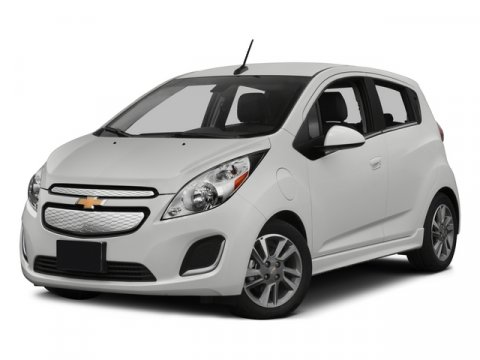 2015 Chevrolet Spark EV LT Summit WhiteDark Pewter wElectric Blue trim V  Automatic 0 miles  C
