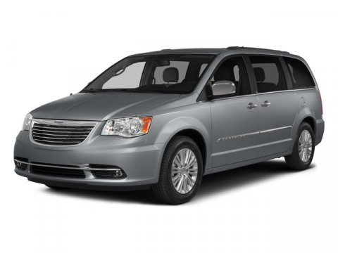 2015 Chrysler Town  Country Touring BILLIT SILVER V6 36 L Automatic 45050 miles Black wLeat