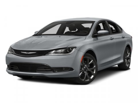 2015 Chrysler 200 Limited Bright White ClearcoatBlack V4 24 L Automatic 5 miles  BLACK PREMIUM
