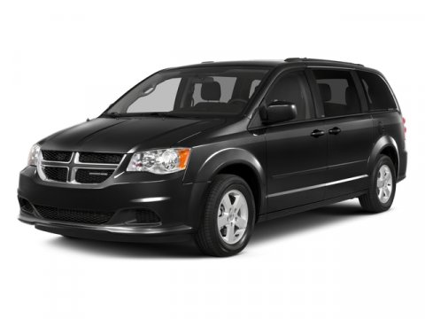 2015 Dodge Grand Caravan Brilliant Black Crystal Pearlcoat V6 36 L Automatic 1 miles  Front Wh