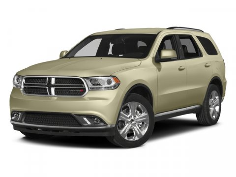 2015 Dodge Durango SXT Bright White Clearcoat V6 36 L Automatic 1 miles  Rear Wheel Drive  Po
