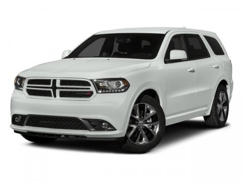 2015 Dodge Durango RT Bright White ClearcoatBlack V8 57 L Automatic 7 miles  2ND ROW CONSOLE