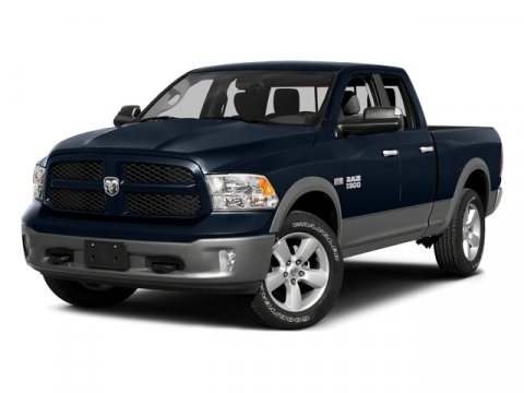 2015 Ram 1500 Quad Cab Express Blue Streak Pearlcoat V8 57 L Automatic 1 miles Rebate includes