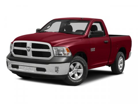 2015 Ram 1500 Regular Cab Tradesman Bright White Clearcoat V6 30 L Automatic 1 miles Rebate in