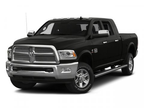 2015 Ram 2500 Laramie GLOSS BLACK V6 67 L Automatic 26 miles  Four Wheel Drive  Tow Hitch  P