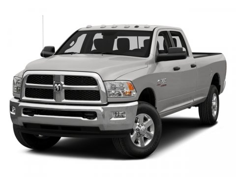 2015 Ram 3500 Tradesman WhiteGray V6 67 L Automatic 50 miles  Four Wheel Drive  Tow Hitch