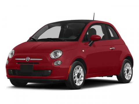 2015 FIAT 500 Sport Rosso RedAvorio V4 14 L Manual 4 miles  Front Wheel Drive  Power Steeri