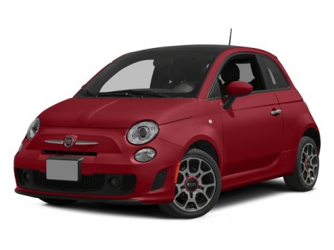 2015 FIAT 500 Turbo Nero PuroRed V4 14 L Automatic 4 miles  Turbocharged  Front Wheel Drive