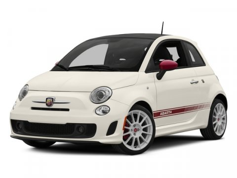 2015 FIAT 500 Abarth Bianco WhiteRed V4 14 L Automatic 5 miles Driving just got fun again F