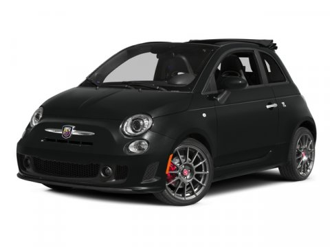 2015 FIAT 500c Abarth Nero PuroNero V4 14 L Automatic 4 miles Driving just got fun again FIAT