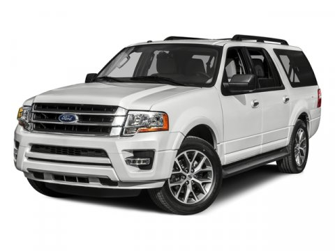 2015 Ford Expedition EL XLT White Platinum Metallic Tri-CoatAD V6 35 L Automatic 0 miles Redes