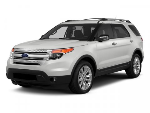 2015 Ford Explorer XLT White Platinum Metallic Tri-Coat V6 35 L Automatic 10 miles  Front Whee