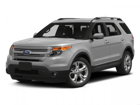 2015 Ford Explorer Limited White Platinum Metallic Tri-CoatPERFORATED LTHR HEATEDCOOLED CHAR BLAC